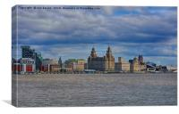 city of liverpool, Canvas Print