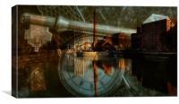 city time, Canvas Print