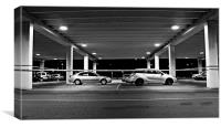 Late Night Parking, Canvas Print