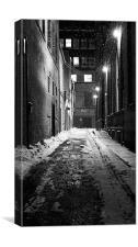 Alley Walks, Canvas Print