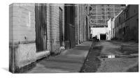 Alley Way, Canvas Print