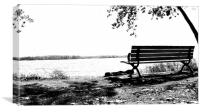 Beyond The Bench, Canvas Print