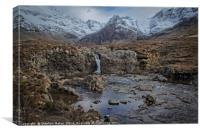 Fairy Pools, Isle of Skye, Canvas Print