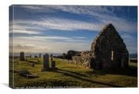 Trumpan Church, Waternish, Skye, Canvas Print