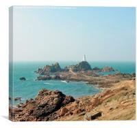 La Corbiere Lighthouse , Canvas Print