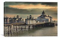Eastbourne Pier, Canvas Print