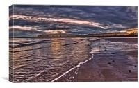 seashore seascape, Canvas Print