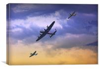 Battle of Britain, Canvas Print