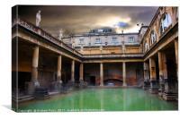 Bath Time, Canvas Print