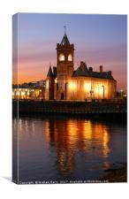 Cardiff Bay, Canvas Print