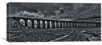 Settle To Carlisle Viaduct, Canvas Print