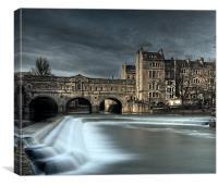 Poulteney Bridge, Canvas Print