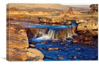 Windy Cross Waterfall, Canvas Print
