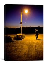 Lamp Post Fifteen, Canvas Print