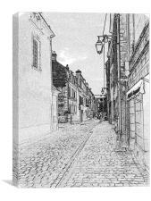 Ah France , Canvas Print