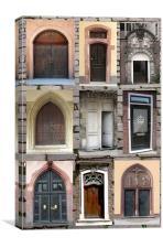Doorways , Canvas Print