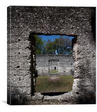 Tabby Ruins, Georgia, Canvas Print