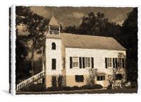 Old Church, Canvas Print