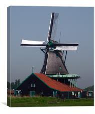 Windmill, Canvas Print
