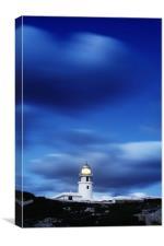 Lighthouse of Cap de Caballeria, Menorca., Canvas Print