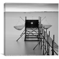 fishing cottage, Yves, France      , Canvas Print
