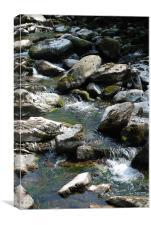 Lindmouth River, Canvas Print
