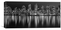Night in the City, Canvas Print