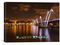 LONDON, Canvas Print