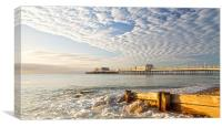 Morning Glory Worthing, Canvas Print