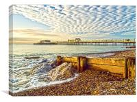 Worthing West Sussex, Canvas Print