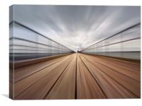 Southend Pier Abstract, Canvas Print