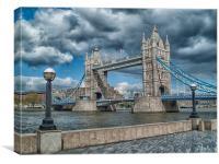 Fantastic Tower Bridge, Canvas Print