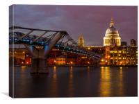 St Paul's London, Canvas Print