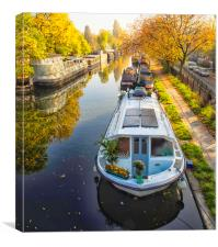 Little Venice London, Canvas Print