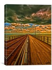 Southend On Sea, Canvas Print