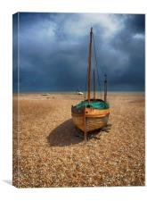 Boat At Dungeness, Canvas Print