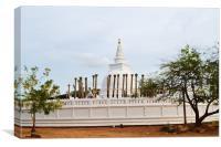Thuparama  Stupa,Srilanka., Canvas Print