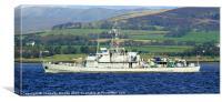 Navy Ship, Canvas Print
