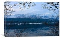 Coniston Old Man Lake District, Canvas Print
