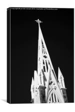 Mauritius Cathedral, Canvas Print