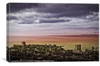 Marseille hdr vision, Canvas Print