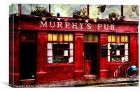 Murphy's Pub in Dingle, Canvas Print