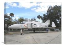 The McDonnell-Douglas F-4 Phantom II, Canvas Print