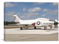 McDonnell F-101 Voodoo, Canvas Print