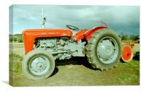 Massey-Ferguson 35 Tractor, Canvas Print