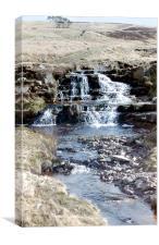 Hidden Waterfall, Canvas Print