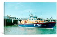 Tyne Class Lifeboat, Canvas Print