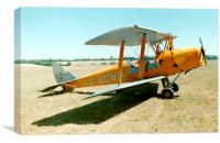 De-Havilland Tiger Moth, Canvas Print