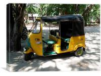 Auto Rickshaw, Canvas Print
