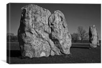 Avebury stone Ring, Canvas Print